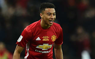 Lingard loving every minute of Wembley scoring streak