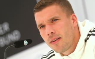 Podolski left fuming over 'mascot' jibes