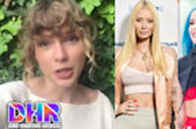 Taylor Swift SLAMMED for NBA Awards Video - Iggy Azalea Claps Back at Halsey (DH