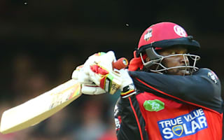 Destructive Gayle fires Renegades to five-wicket win