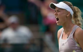 Wozniacki pleased with winning return