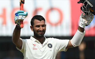 Cummins gets going but classy Pujara holds up Australia