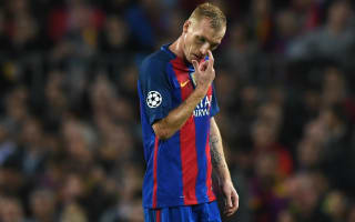 Mathieu out of Clasico with calf injury