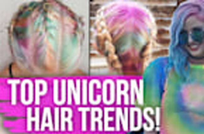 Top UNICORN Hair Trends!