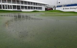 Heavy rain sets up frantic BMW International Open finish