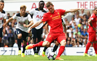 Milner: Liverpool didn't do enough after leading