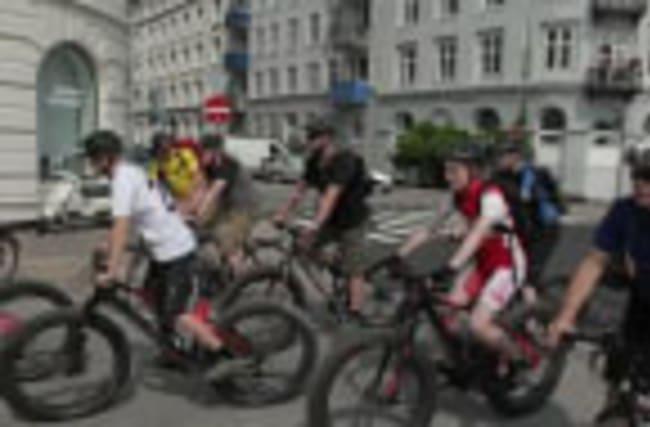 Copenhagen opens new cycle path