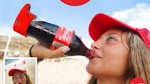 Coca-Cola tiene una botella que hace selfies