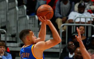 Curry ties Korver's three-point record