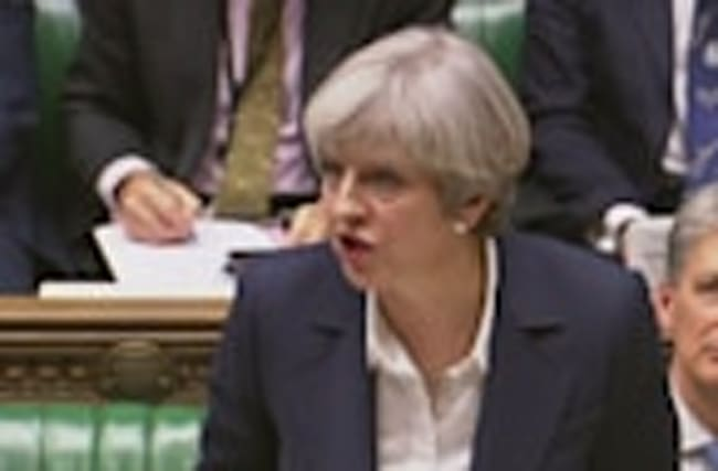 UK Prime Minister Theresa May officially triggers Brexit