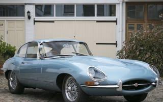 Incredible vintage cars displayed at London Classic Car Show