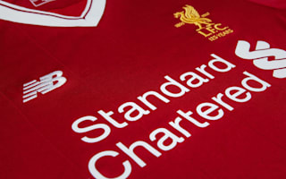 Liverpool present new kit and crest to mark 125th anniversary