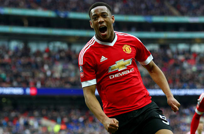 Martial rejects reports he will leave Man United