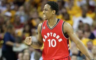 Raptors star DeRozan happy in Toronto