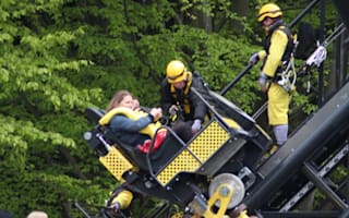 Alton Towers rollercoaster crash leaves 4 seriously injured