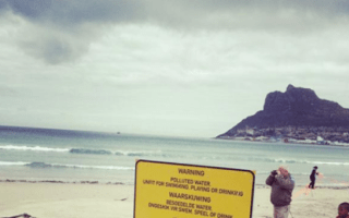 E coli warning for popular Cape Town beach