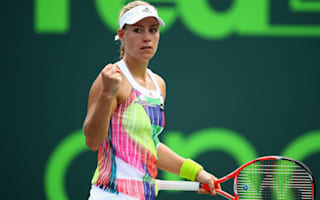 Kerber, Muguruza advance as Venus tumbles in Miami