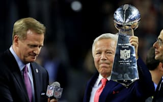 Owner Kraft hits back at 'jealous' Patriots haters