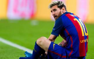Luis Enrique calms Messi worries