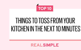 10 things to toss from your kitchen in the next 10 minutes
