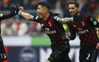 Montella hails Lapadula's 'fairytale' rise to AC Milan stardom