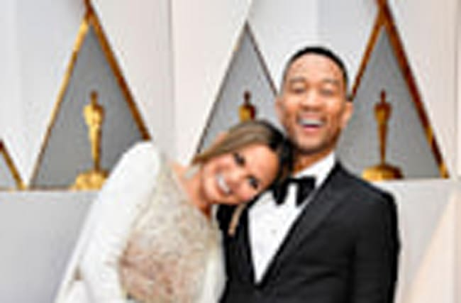 EXCLUSIVE: John Legend and Chrissy Teigen are Everything at the Oscars