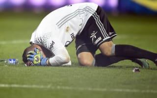 Metz-Lyon abandoned after Lopes hurt by firecracker