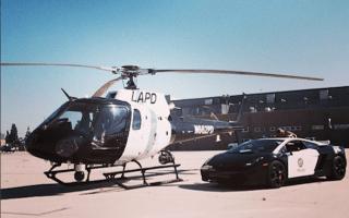LAPD unveils liveried Lamborghini Gallardo