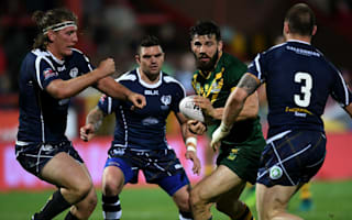 Kangaroos confirm 'shattering' Mansour injury