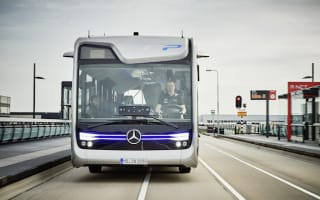 Mercedes Benz unveil self-driving coach