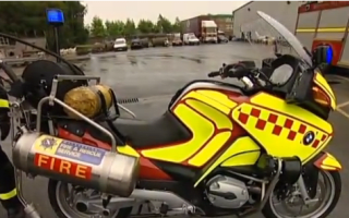 Firefighters in Merseyside to trial new 'fire bike'