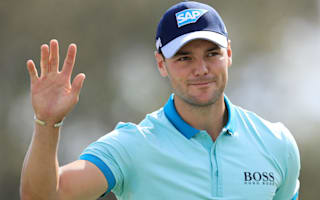 Watch as Martin Kaymer holes out for eagle