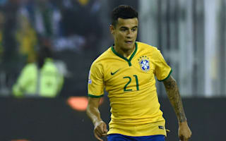 Coutinho, Kaka and Alex Sandro named in Brazil squad