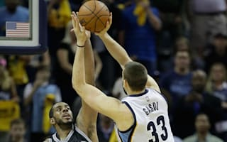 Grizzlies edge Spurs, Warriors rally