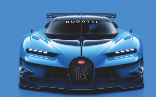 Bugatti reveals official renderings of Vision Gran Turismo show car