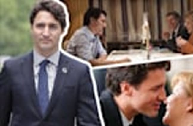 Justin Trudeau Is Charming His Way Through Germany