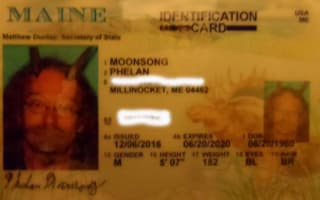 Pagan priest fights to wear religious horns on head in state ID photo and wins