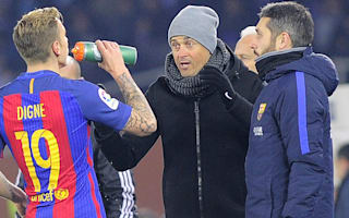Luis Enrique hails Barca defence after ending Anoeta curse