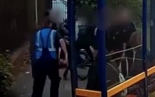 Hero lorry driver saves boy from bus stop bullying attack