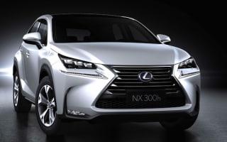 New Lexus NX set to crash Range Rover's party