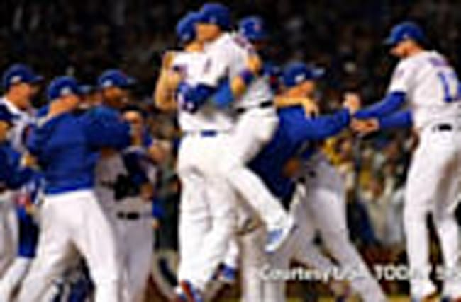 Chicago Cubs victorious, headed to World Series