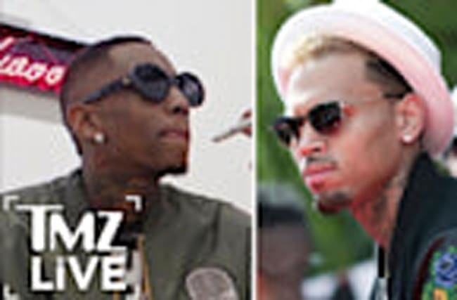 Chris Brown: Fight With Soulja Boy Is OFF I TMZ LIVE