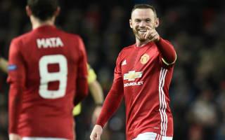 Rooney record 'an amazing achievement', beams Mourinho