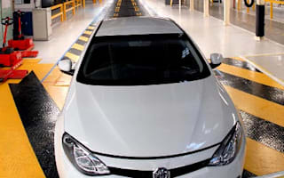 First new MG for 10 years rolls off Longbridge production line