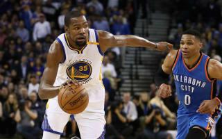 Harden dominates Bucks, Warriors pull away from Thunder