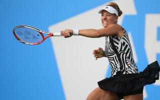 Kerber and Kvitova through in rainy Birmingham