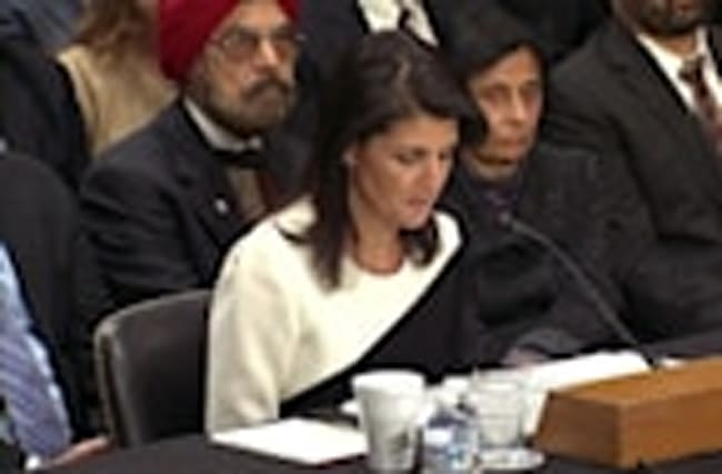"Haley: ""U.N. could benefit from fresh set of eyes"""