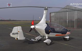 This personal mini-helicopter is built for air and road travel