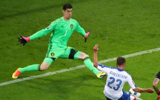 Belgium were outclassed, admits Courtois