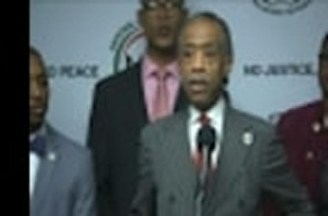 Al Sharpton Announces Pre-Inauguration March